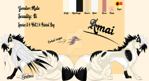 Ref-sheet: Amai [art update!] by Shallur