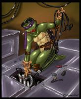 TMNT - Donnie fixing by xSkyeCrystalx