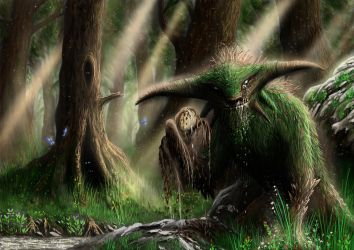 God of the forest by rasty690