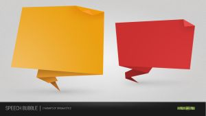 Speech Bubble PSD by NishithV