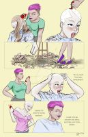 Tracey's Summer Shave Page 2 by danielwartist