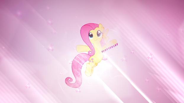 Serenity | Fluttershy Wallpaper | 1440x2560 by ToChaseDawn