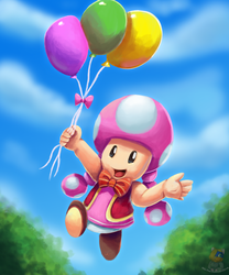 Mario party more like TOADETTE PARTY by HG-The-Hamster