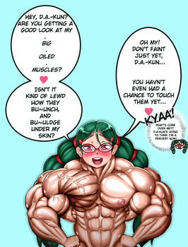 Haruna is secretly a flirtatious muscle girl?! by MGChaser