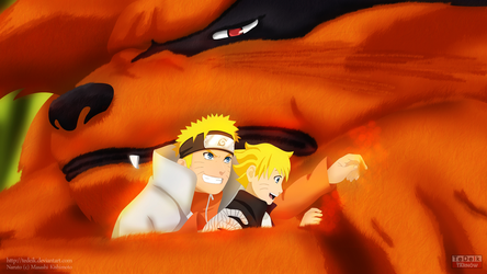 The Last: Naruto the Movie: Boruto and Kurama by TeDeIk