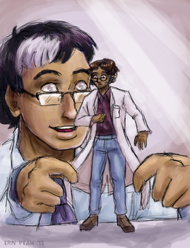 The Littlest Lab Coat by ErinPtah