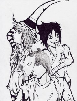 Inked - Deathnote Nightmare by tigerkatz