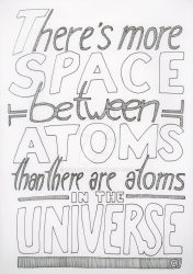 There's More Space Between Atoms... by Siebrand