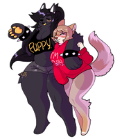 ~ Gay Girls ~ by SatanickPaws