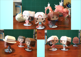 Papercraft by MountainOfCookies