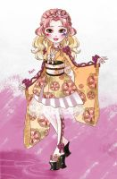 Ever after high: Peach Girl by Catlione