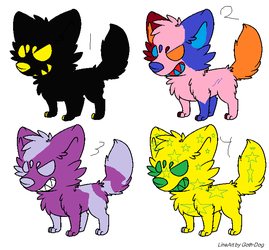 Adoptables!! by SonicLover1523