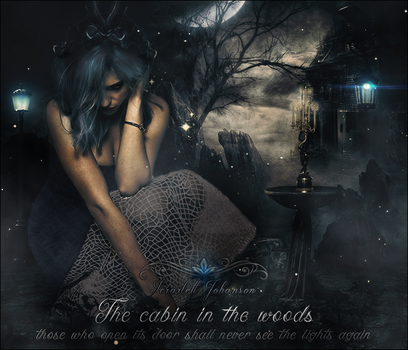 the cabin in the woods by motoko-09