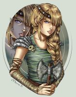 Viking Hall of Fame - Astrid by Acaciathorn