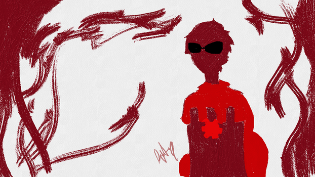 Dave Strider Painting by RiteMeow