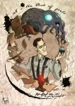 .H.P Lovecraft 125th Birthday Anniversary. by MalakiaLaGatta