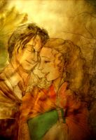 Harry and Hermione- Content by alizarin
