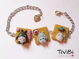 Kawaii My neighbor Totoro by tivibi