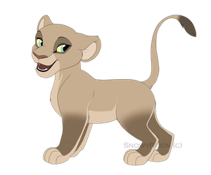 Cub Shafira - Kitchiki Style by SnowyReign
