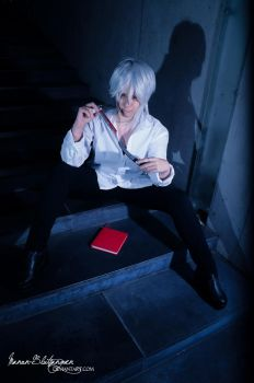 .: Makishima Shogo :. Amuzing LIFE Game by Manon-Blutsanguen