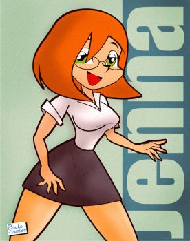 Jenna by Kidd-P again by DJSeanD