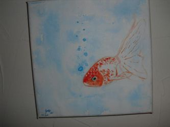 Goldfish Acrylic by original001