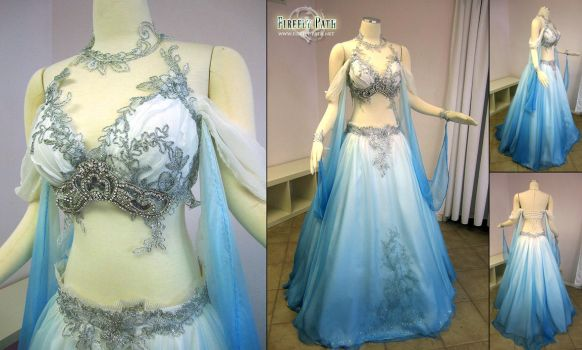 Belly Dancer Wedding Gown by Firefly-Path