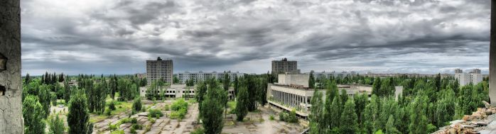 Abandoned town Pripyat by MoonGod