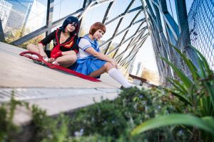 KILL LA KILL - Mako and Ryuko I by MadeinPlute