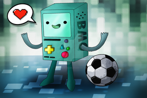 BMO by Indie-Draws