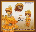 Old Chica the Chicken by Enock