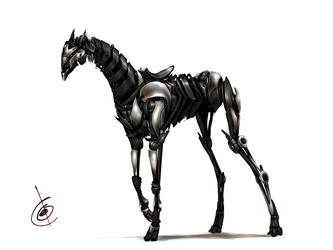 mechanical horse by Tapwing
