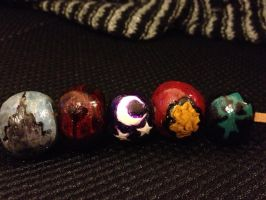 Percy Jackson: Camp Half-Blood Bead Necklace by ramenrulz8P