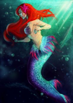 The little princess of the sea. by PissedArtwork