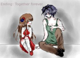 Ib ending: Together forever by Mafuh-Chan