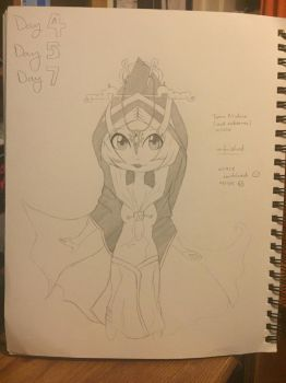 Midna, Twilight Princess (Unfinished) by LightEssence