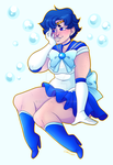 EmzCommission:SailorMercury by EmzRoze