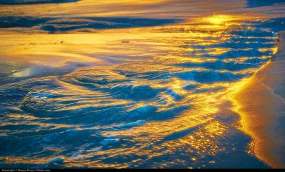 gold waves by DenisMDguy