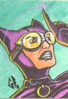 SketchCard: Catwoman_1 by Axigan