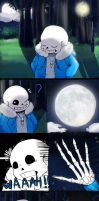 Anti Glitch sans TF REQUEST page 1 [CANCELLED] by Kirby-Popstar