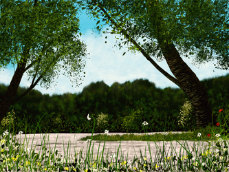 Green and Sunny by MarianthiZ