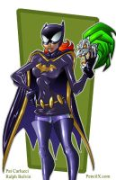 Batgirl - Animated by PatCarlucci