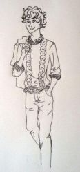 Draw Your Favorite Character In Your Clothes by GunslingersAura