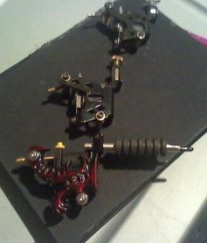 Tattoo machines just got a new one its the sick re by Mortal--Demon