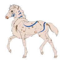 N3513 Padro Foal Design for IloveWerewolf1 by casinuba