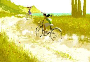 Dirt Roads Down South by PascalCampion