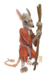 Sketch Dailies: Splinter by TimBeard