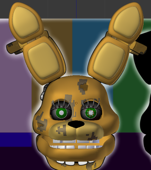 Andiiie Springbonnie W.I.P by CubicAnimations