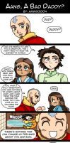 Aang a Bad Daddy by AmayaMarieSuta