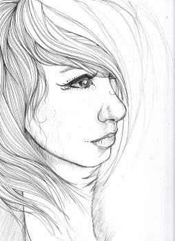 Some Girl WIP 2 by GraphicDensity